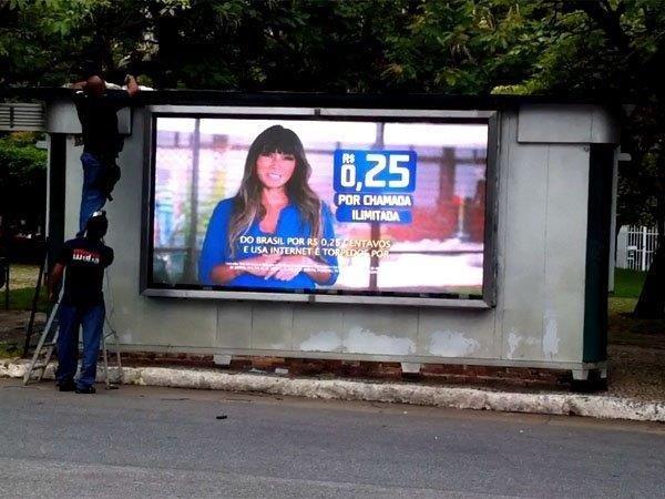 Comprar painel de led para publicidade