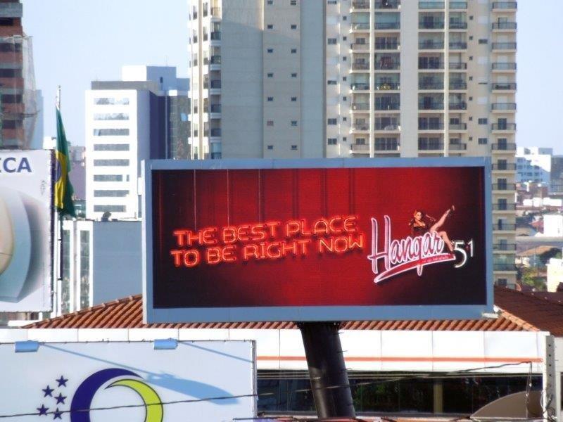 Painéis de led para publicidade